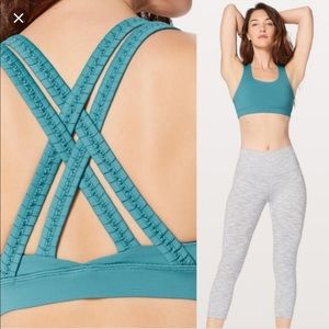 Lululemon Energy Braided Sports Bra